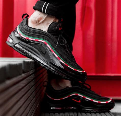 Undftd X Nike Air Max 97 Black release reminder undefeated x nike air max 97 black