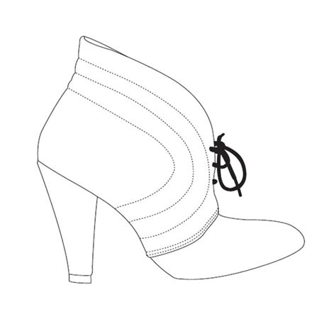 shoe drawing template 17 best images about design shoe illustration on