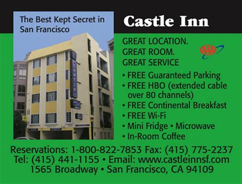 castle inn san francisco castle inn san francisco hotels lodging