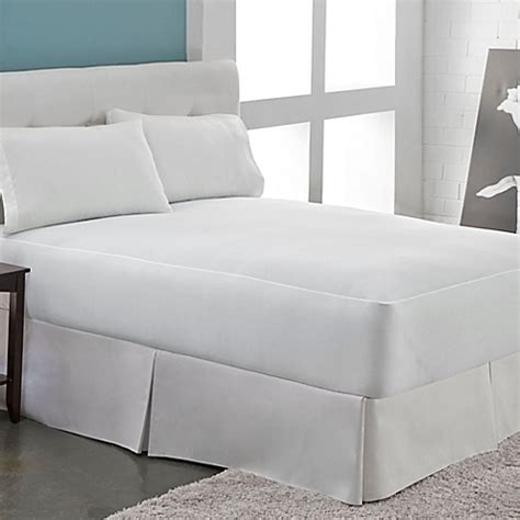 bed bath beyond mattress protector perfect fit 174 microfleece waterproof mattress protector