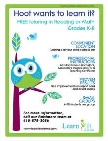 Free Tutoring Flyer Template by 15 Cool Tutoring Flyers Printaholic