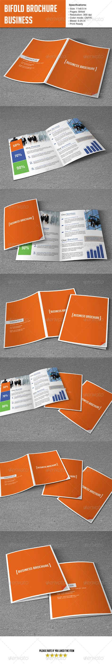 Bifold Template Business By Smmr Graphicriver Print Stylesheet Template