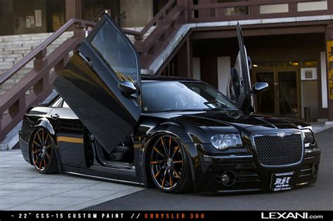 Custom Chrysler 300 Parts by Chrysler 300 On Color Matched Lexani Rims