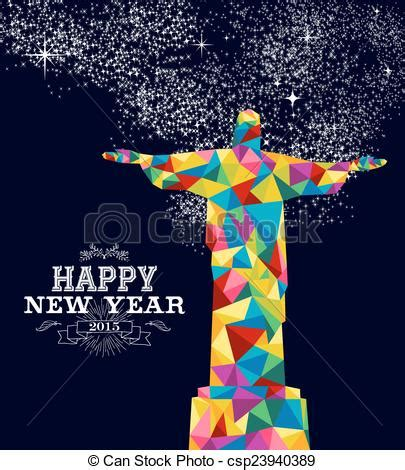 new year 2015 in jacksonville or vector of new year 2015 brazil poster design happy new