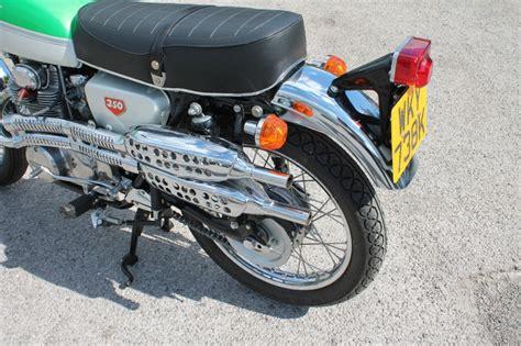 restored honda cl350 1973 photographs at classic bikes restored bikes restored