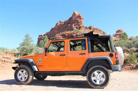 Sedona Jeep Rental Soldier S Pass Trail Picture Of Barlow Jeep Rentals