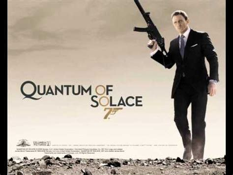 quantum of solace film music james bond soundtrack quantum of solace theme youtube