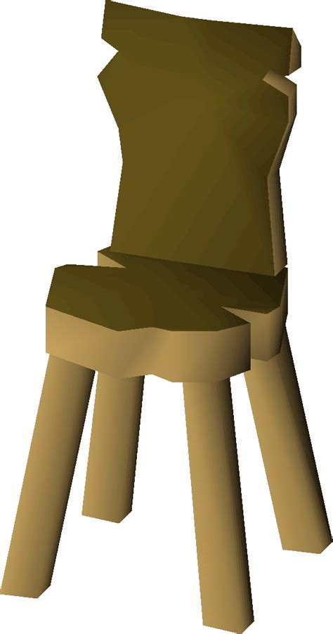 crude wooden chair crude wooden chair osrs wiki