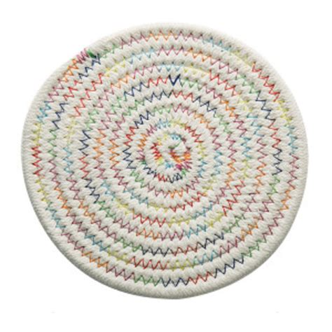 Rug Coasters by Braided Rug Coaster Apollobox