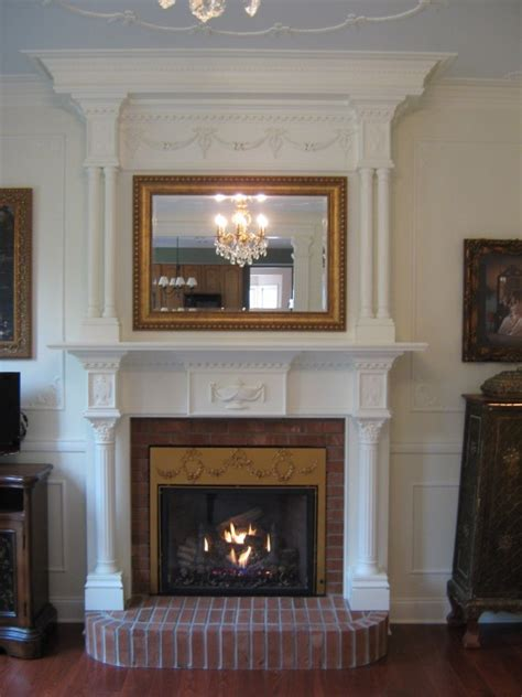 gas fireplaces with mantels gas fireplace mantel gets woodworking projects plans