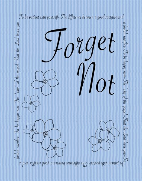 Html Not Printable | jill made it quot forget not quot printable