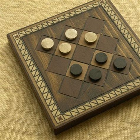 ancient board game woodwork art handmade decoration