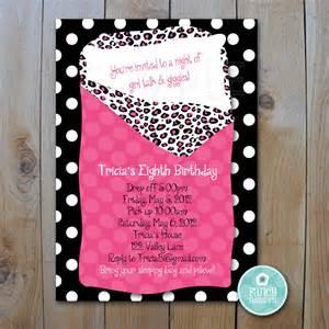 slumber invitations invitations templates