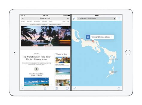 ios iphone ipad ios view ios 9 ipad multitasking and ios safari