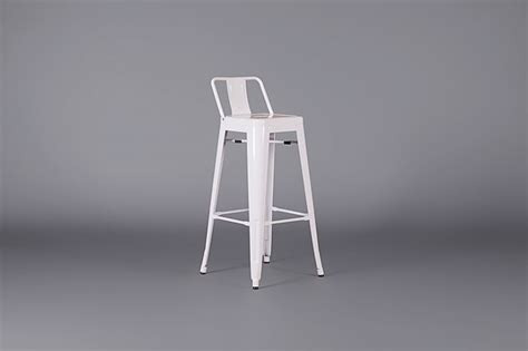 White Metal Bar Stools With Back by Metal Bar Stool With Back White Stools Furniture On