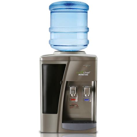 Water Dispenser With Cooler nutrichef pktwc10sl kitchen cooking fridges coolers