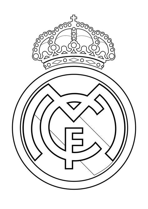 escudo del madrid para colorear az dibujos para colorear dibujos para colorear pintar imprimir escudo real