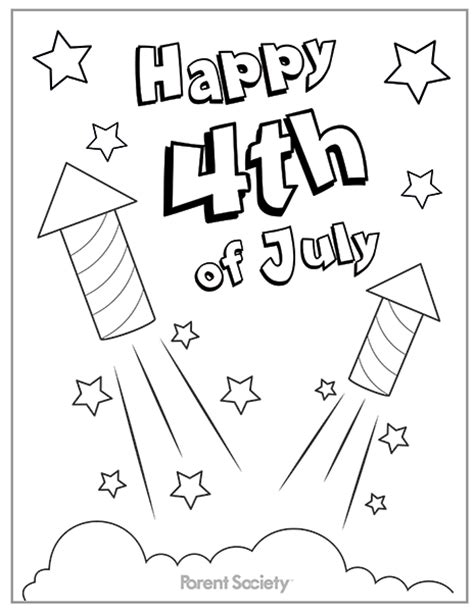 Coloring Page 4th Of July by 6 Best Images Of 4th Of July Coloring Printables 4th Of