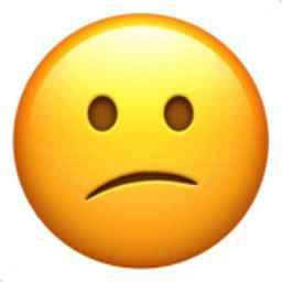 confused face emoji uf