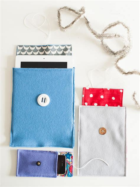 Handmade Cover - how to make a felt cover for a smart phone or tablet hgtv