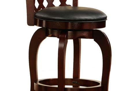 24 bar stools with back swirl back 24 quot bar stool at gardner white