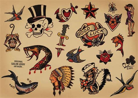 tattoo old school marin la signification des tatouages old school