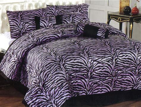 animal print comforter sets king purple zebra animal print faux fur comforter set king