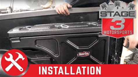 undercover swing case installation 2004 2014 f 150 undercover swing case storage box install
