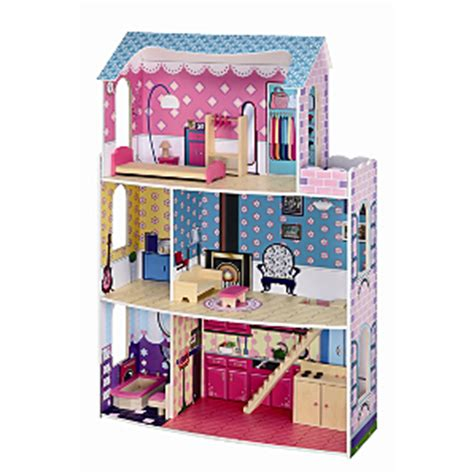 asda doll house kids 115cm high glamour mansion fashion dollhouse for 163 27 94 del asda hotukdeals