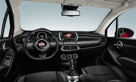 Fiat 500x Interior by Car And Driver