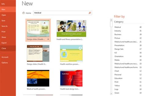 microsoft office powerpoint 2013 templates new templates in microsoft powerpoint 2013 office 15