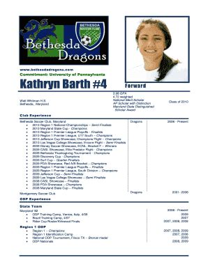 22 awesome soccer player profiles template bomp us