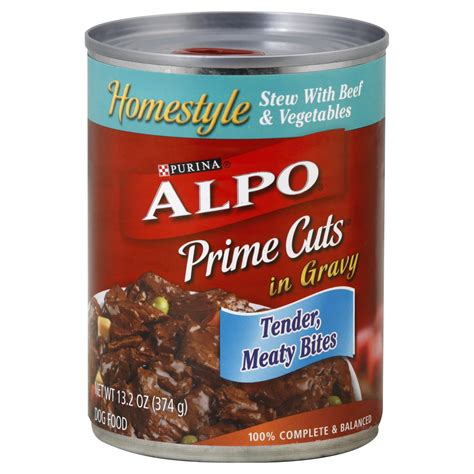 alpo food alpo food homestyle stew with beef vegetables in gravy 13 2 oz 374 g rite aid