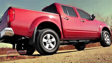 red nissan frontier lifted 2005 to 2017 nissan frontier xterra 2 5in suspension