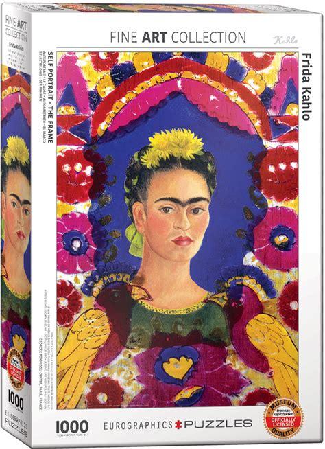 frida kahlo  portrait  frame