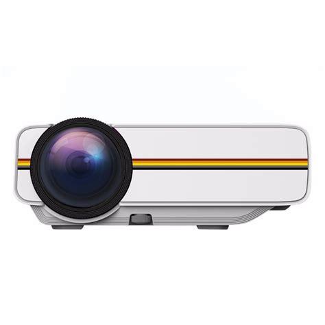 Proyektor Mini 2 Jutaan proyektor mini lcd 800 x 480 pixel 1200 lumens yg400 white jakartanotebook