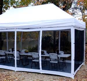 Canopy Screen Walls by New 10 X 20 King Canopy Bug Proof Room Screen Tent Walls