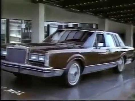 free car manuals to download 1984 lincoln town car seat position control 1984 lincoln town car commercial youtube