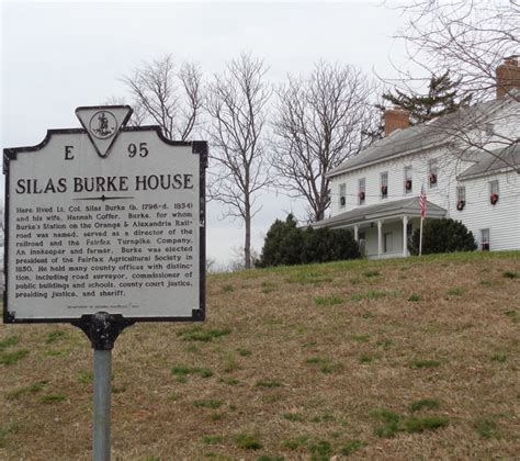 silas house historical sites around burke virginia gt historical areas in fairfax