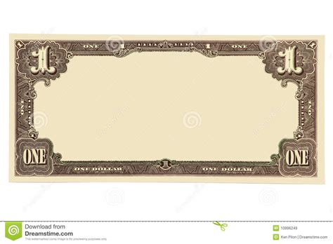 blank banknote stock image image of dollars background