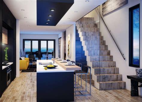 casa de interiores planos casa dos pisos angosta y larga dise 241 o