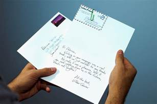 send armor piercing handwritten letters from salesforce