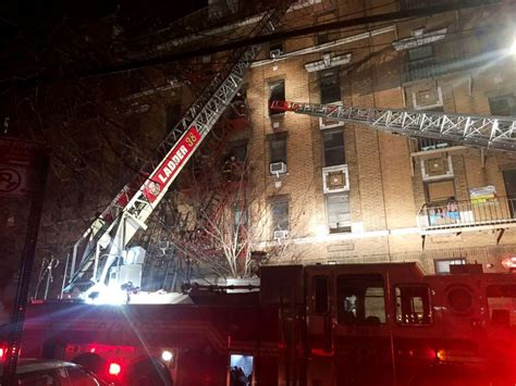 belmont section of the bronx 6 dead in massive apartment fire in new york city