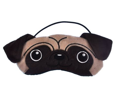 pug sleep mask pug eye mask pink cat shop