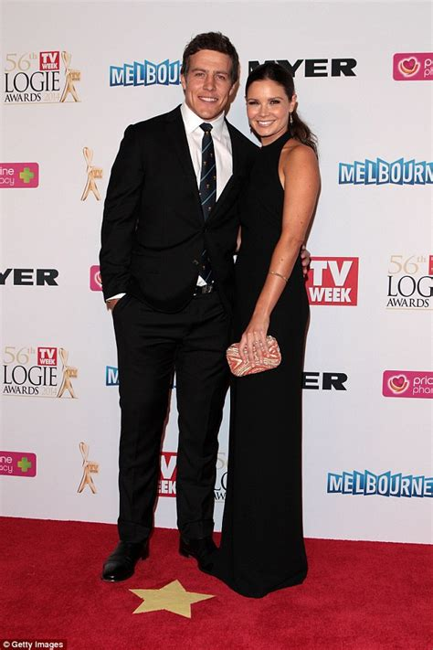 cast in home and away 2015 home and away s steve peacocke on wedding to bridgette