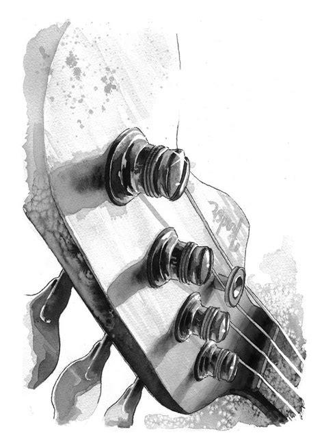 bass guitar tattoo designs bass guitar zoeken drawings