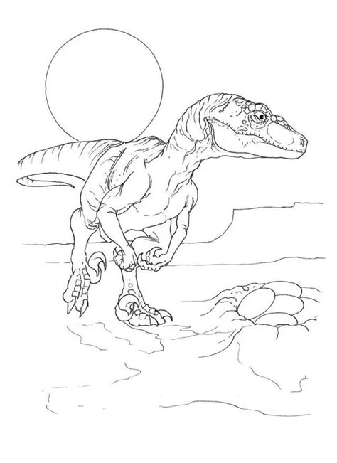 lego raptor coloring page velociraptor coloring page coloring home