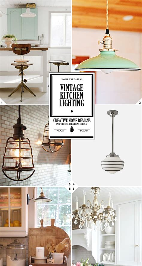 vintage kitchen lighting ideas from school house lights