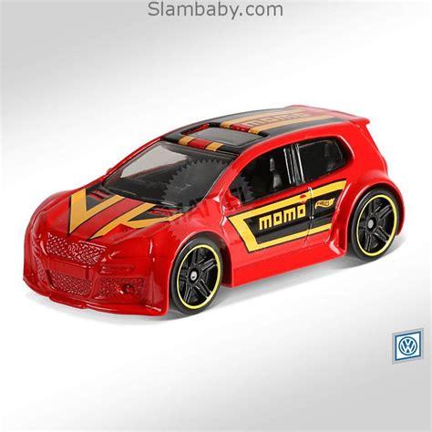 hot wheels volkswagen golf gti red  volkswagen