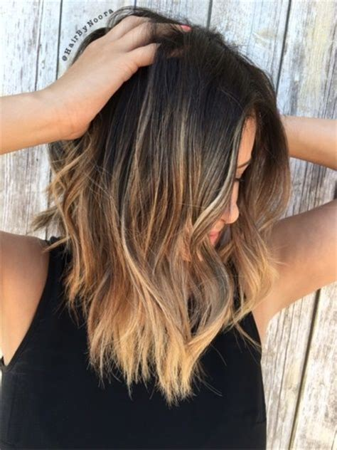 how to cut a modern lob 25 best ideas about balayage highlights brunette on
